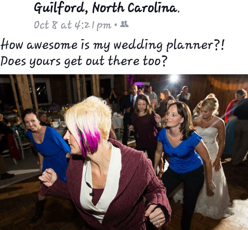 Wedding Planner Dancing